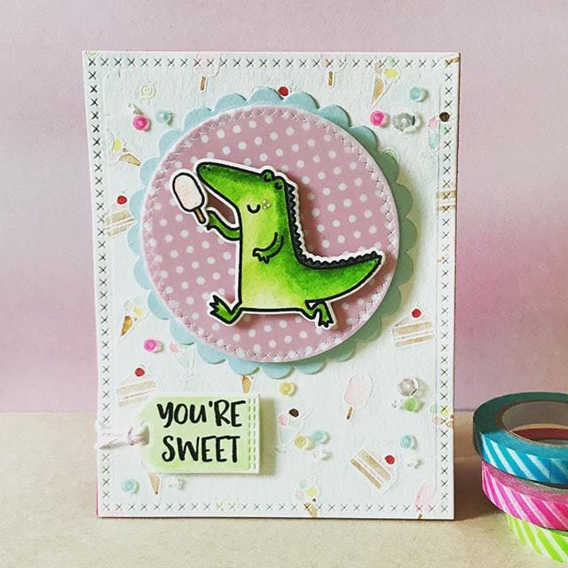 ac21360a109f Heffy Doodle - Clear Acrylic Stamps - Happy Snappy Crocs