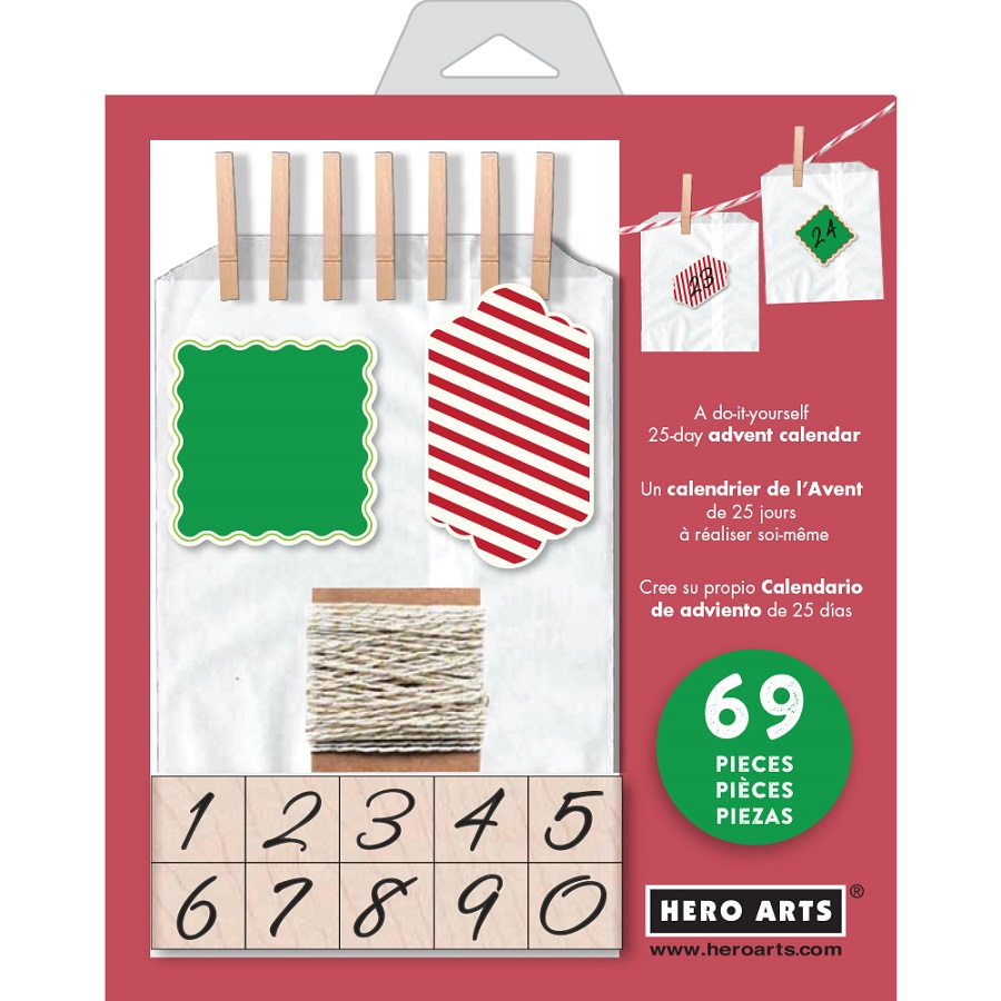 Hero arts advent calendar kit hero arts christmas advent calendar kit solutioingenieria Images