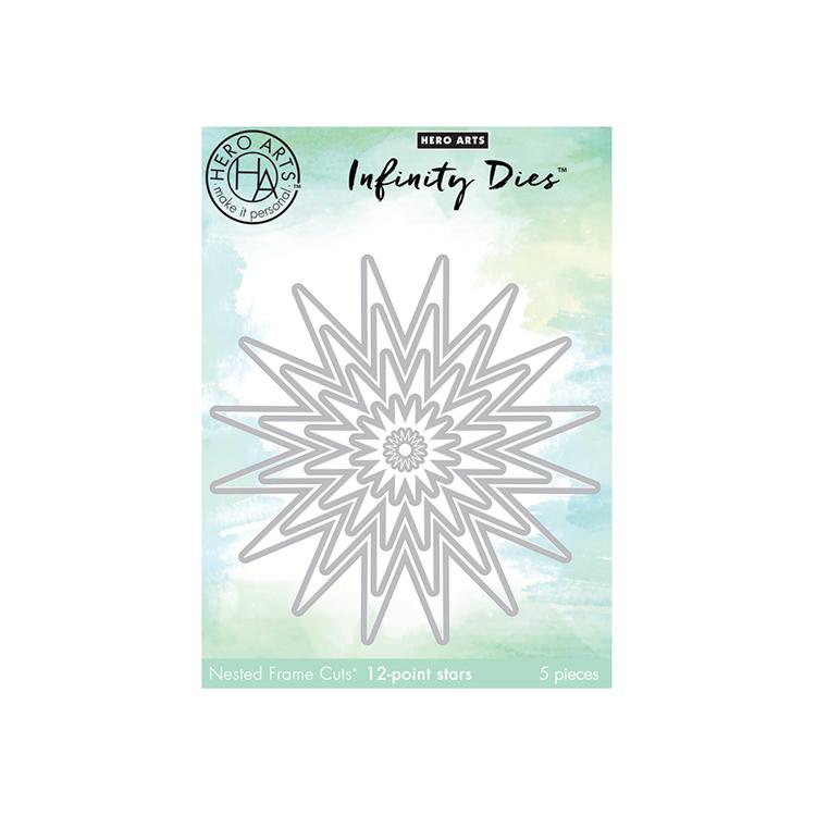 12-Points Stars Hero Arts DI403 Infinity Dies