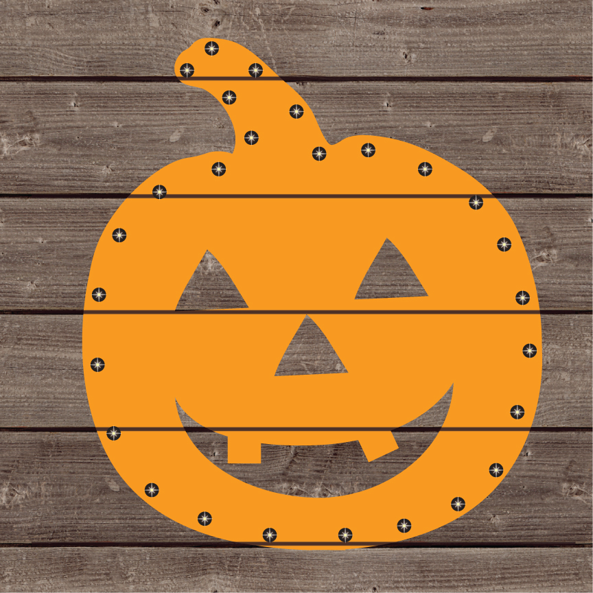 Jillibean Soup Halloween Diy Lighted Wood Sign Kit