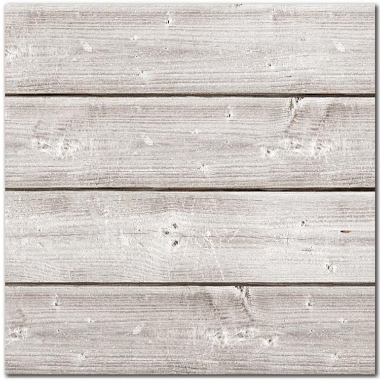 Jillibean Soup Mix The Media 12 X 12 White 3d Wood Plank