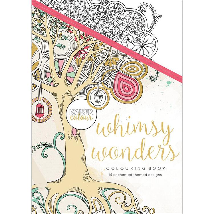 Kaisercraft Kaisercolour Whimsy Wonders Coloring Book
