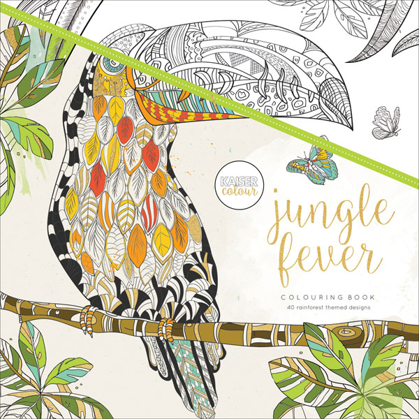 Kaisercraft Kaisercolour Jungle Fever Coloring Book