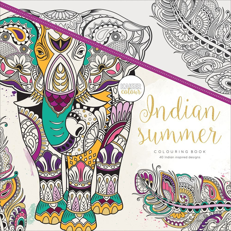 Kaisercraft Kaisercolour Indian Summer Coloring Book