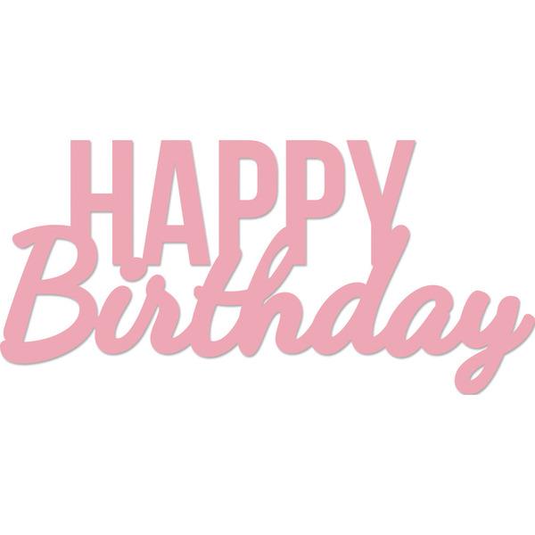 kaisercraft happy birthday words decorative dies