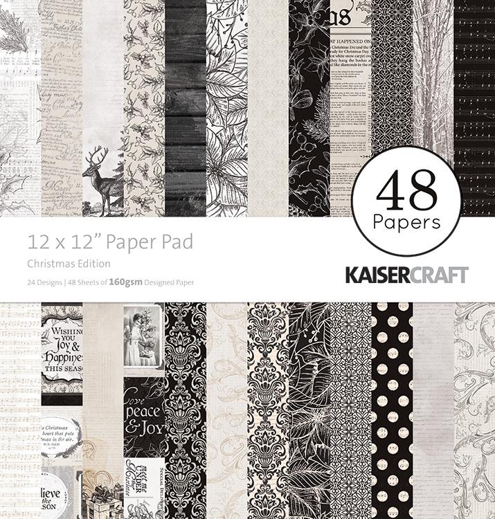 Kaisercraft Christmas Edition 12x12 Paper Pad