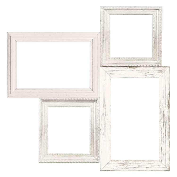 Kaisercraft Full Bloom Frame Cluster Die Cut Paper