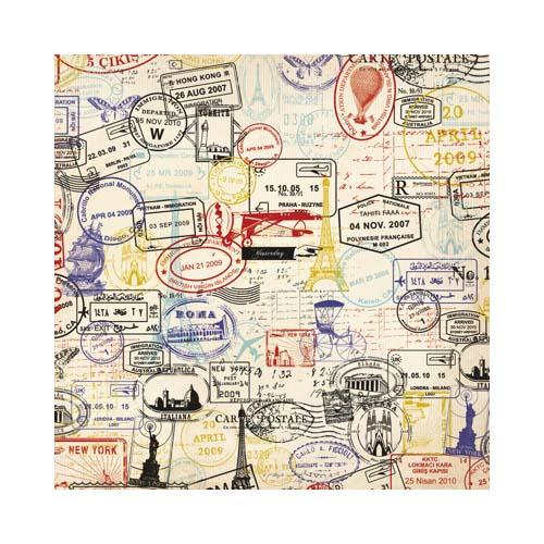 Kaisercraft postmarks 12 x 12 album - Boutique scrapbooking paris ...