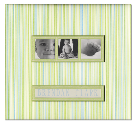 K And Company Baby Collection Frame A Name 12 X 12 Scrapbook