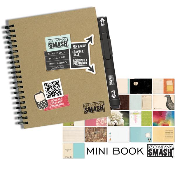 K and Company - SMASH Collection - Journal Book - Retro ... |Smash Folio Journal Kit