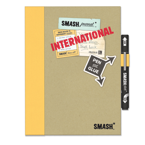 K & Company SMASH Journal Book Folio Scrapbook Lot Kit ... |Smash Folio Journal Kit