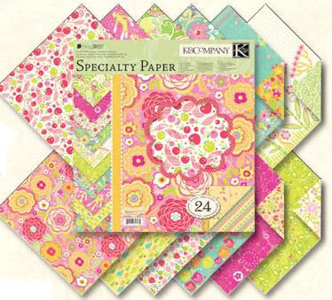 Scrapbook Paper Pad 12x12