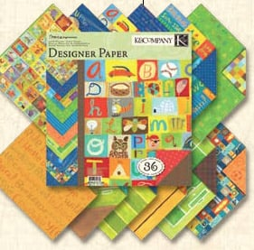 Patterned Paper : The Paper Passion, your scrapbook store