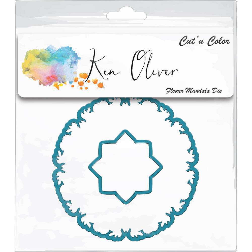 Ken Oliver Cut N Color Flower Mandala Die