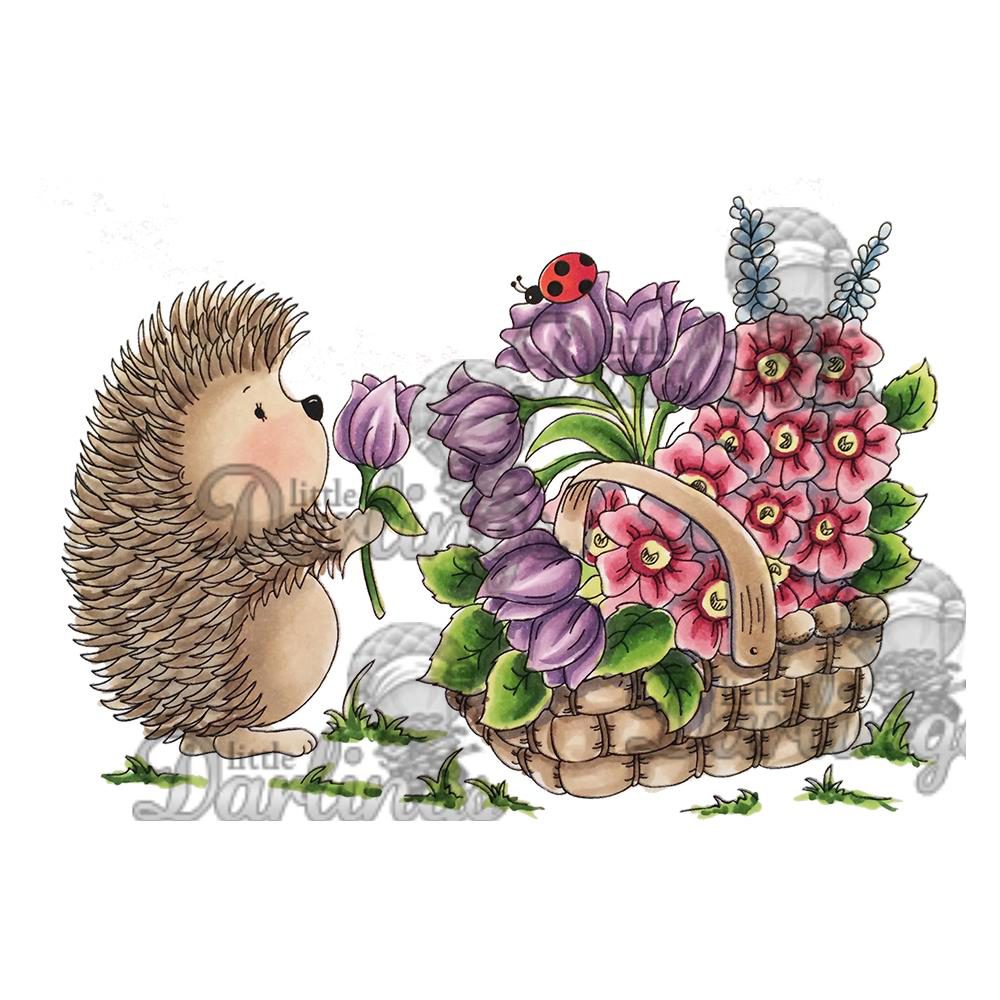 LDRS Creative CandiBean Handpicked For Hedgy Stamps