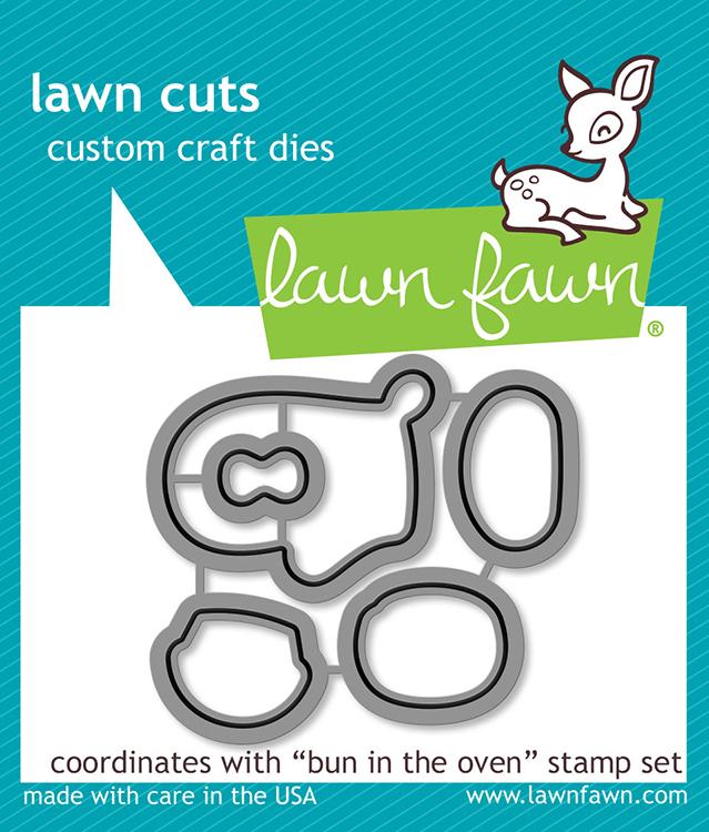 Lawn Fawn Bun In The Oven Lawn Cuts Dies