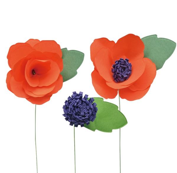 Little b paper flower wildflower petal strip kits little b paper flower petal strip kits wildflower mightylinksfo