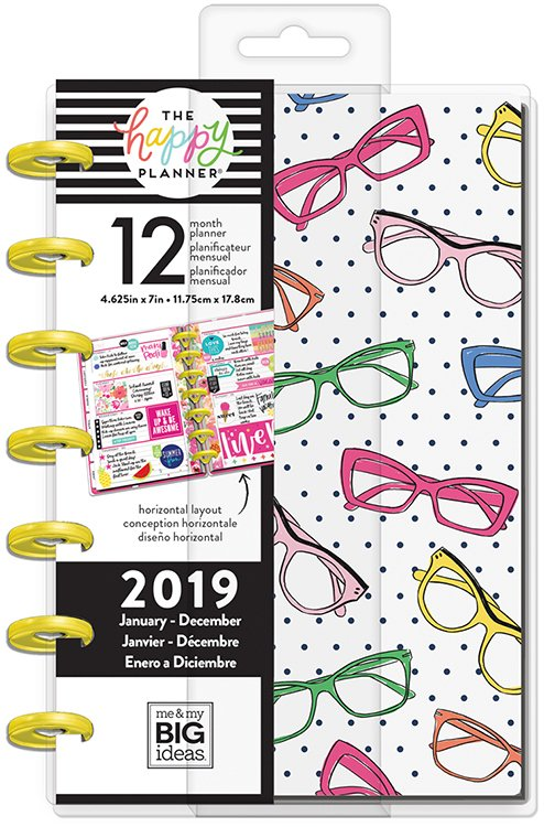 Me and My Big Ideas Create 365 2019 Brighter Side Mini Planner