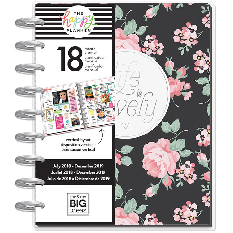 Me and My Big Ideas Create 365 July 2018 to December 2019 Simply Lovely  Planner