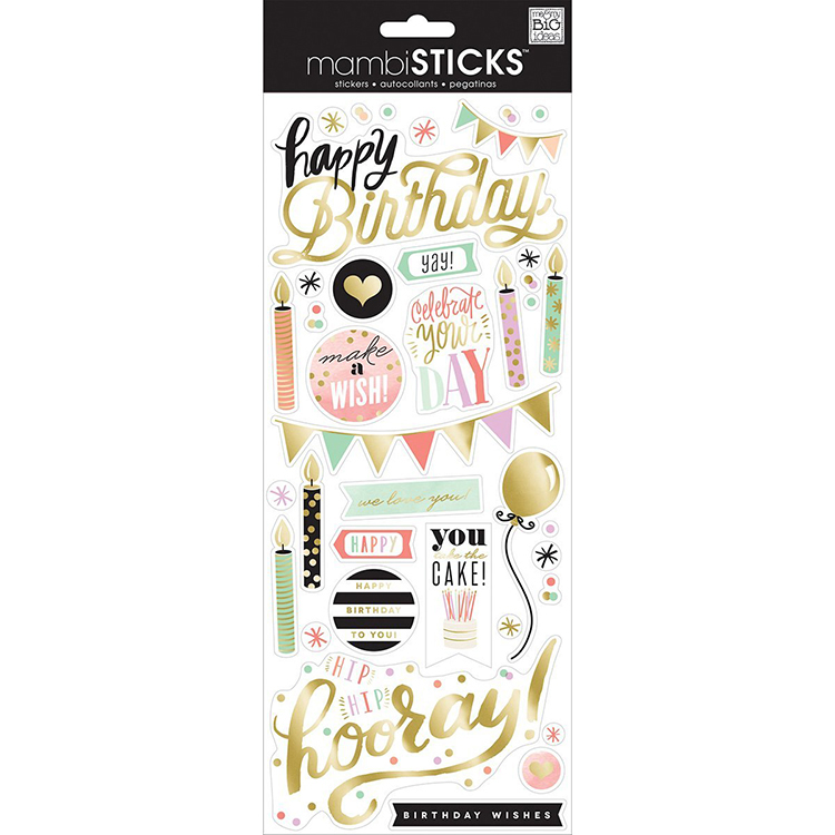 Glitter Stickers Value Pack-Geometric Friends - Overstock Shopping - Big  Discounts on Me & My Big Ideas Stickers