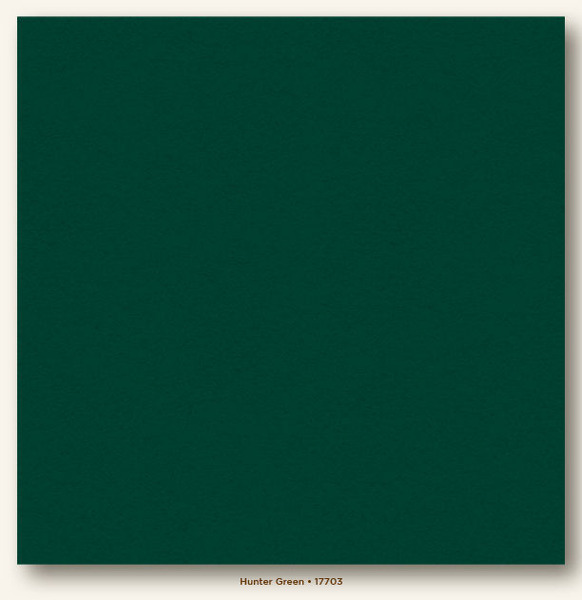 My Colors Cardstock Hunter Green 12x12 Heavyweight Cardstock
