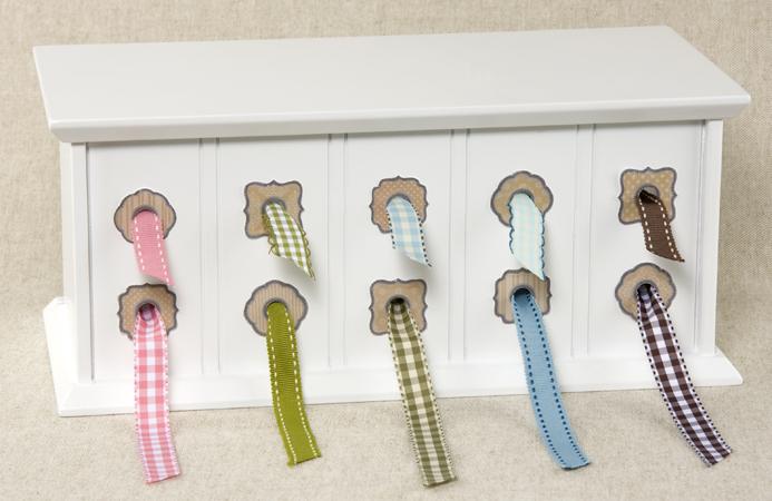 sc 1 st  Scrapbook.com & Making Memories - Ribbon Storage Box CLEARANCE