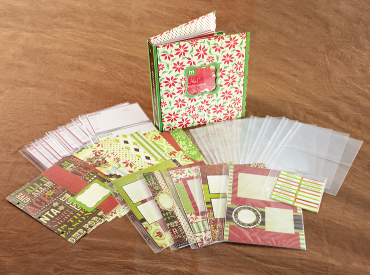 How To Make A Book Kit : Making memories noel collection christmas recipe