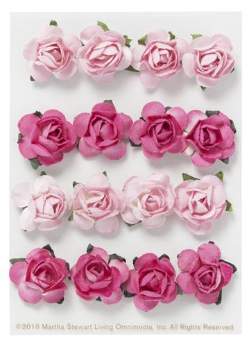 Martha Stewart Crafts - Valentine - 3 Dimensional Stickers