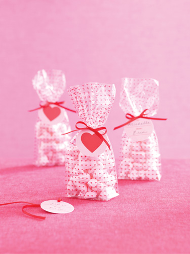 Martha Crafts Valentine S Day Collection Cellophane Treat Bags Mini Hearts