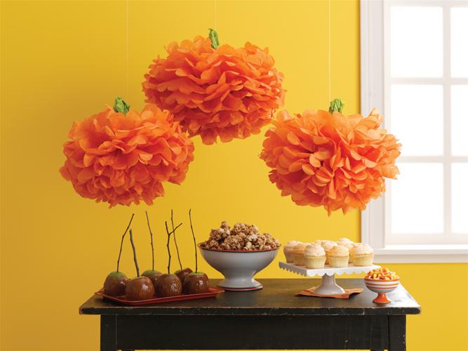 martha stewart crafts halloween collection pom poms carnival pumpkin - Halloween Pom Poms