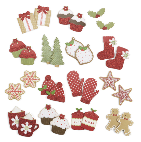 Martha stewart crafts cottage christmas collection for Martha stewart xmas crafts