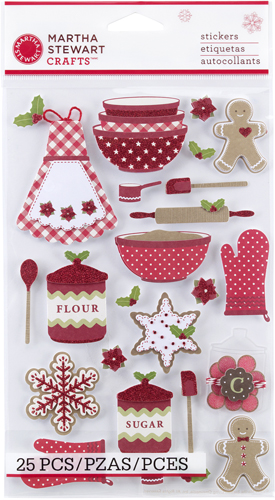 Martha Stewart Crafts Cottage Christmas Collection 3 Dimensional