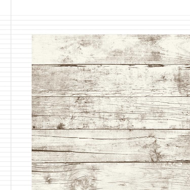 Simple Stories Aspen Notebook 12x12 in paper