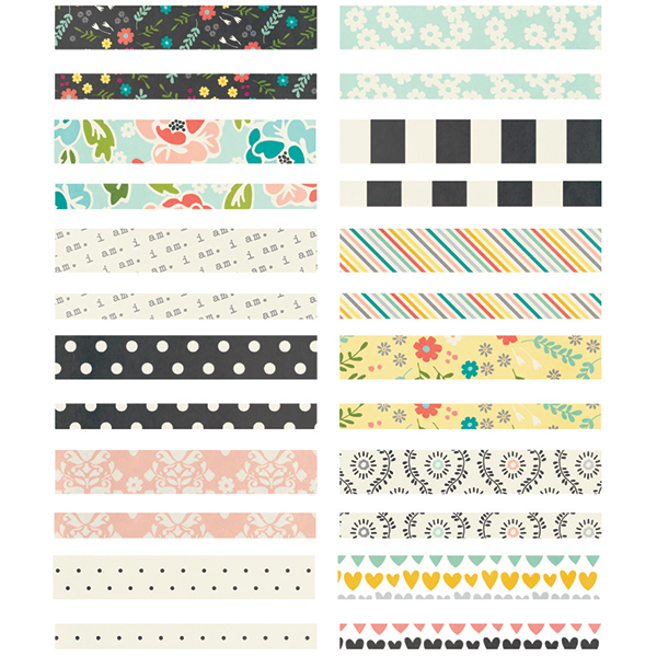 Simple Stories I Am Collection Washi Paper Tape
