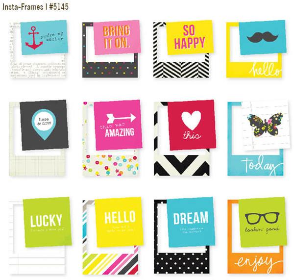 Simple Stories Diy Boutique Insta Frames