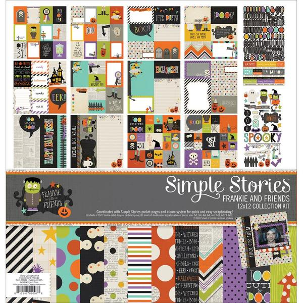 Simple Stories Frankie And Friends 12 X Collection Kit