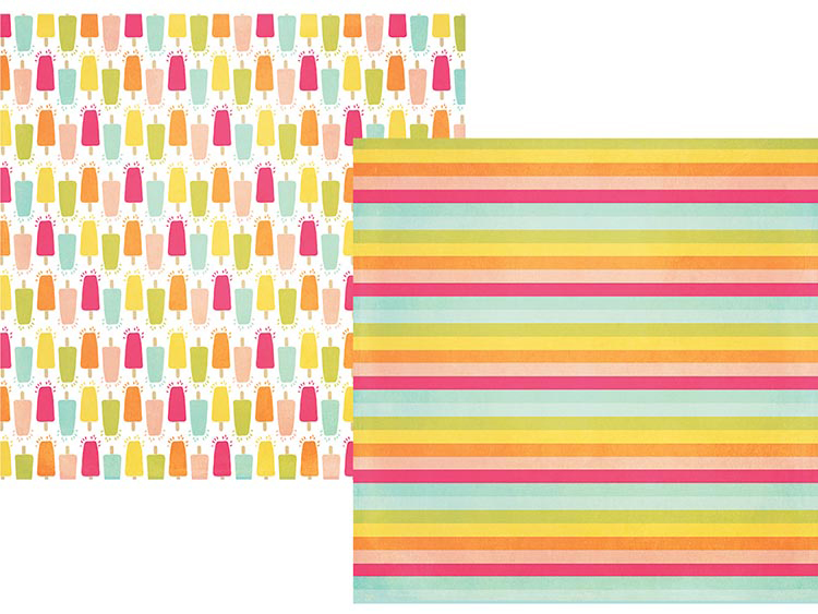 c8cd03bcd74b Simple Stories - Sunshine and Happiness Collection - 12 x 12 Double Sided  Paper - Oh