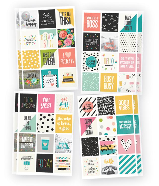 Captivating Simple Stories   Carpe Diem   Planner Essentials   Stickers   Insta Quote Nice Look