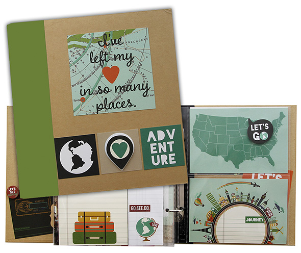 simple stories snap travel binder class kit