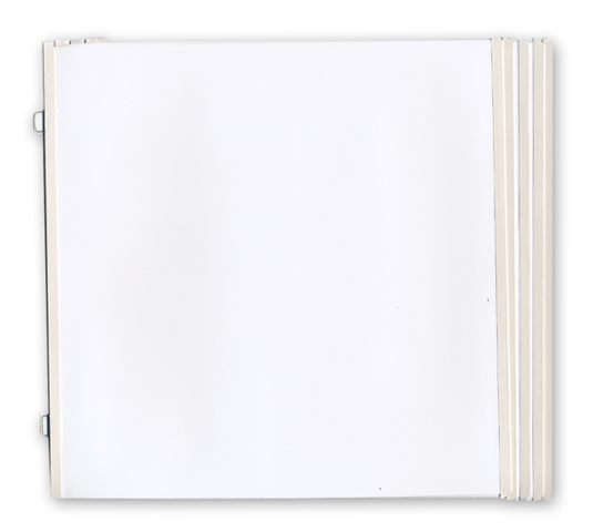 westrim refill pack hinged pages fits 12 x 12 strap albums 10 pack