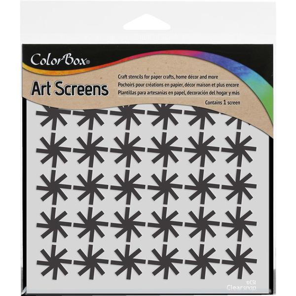 ColorBox Art Screens Pinwheel 6 x 6 Stencil