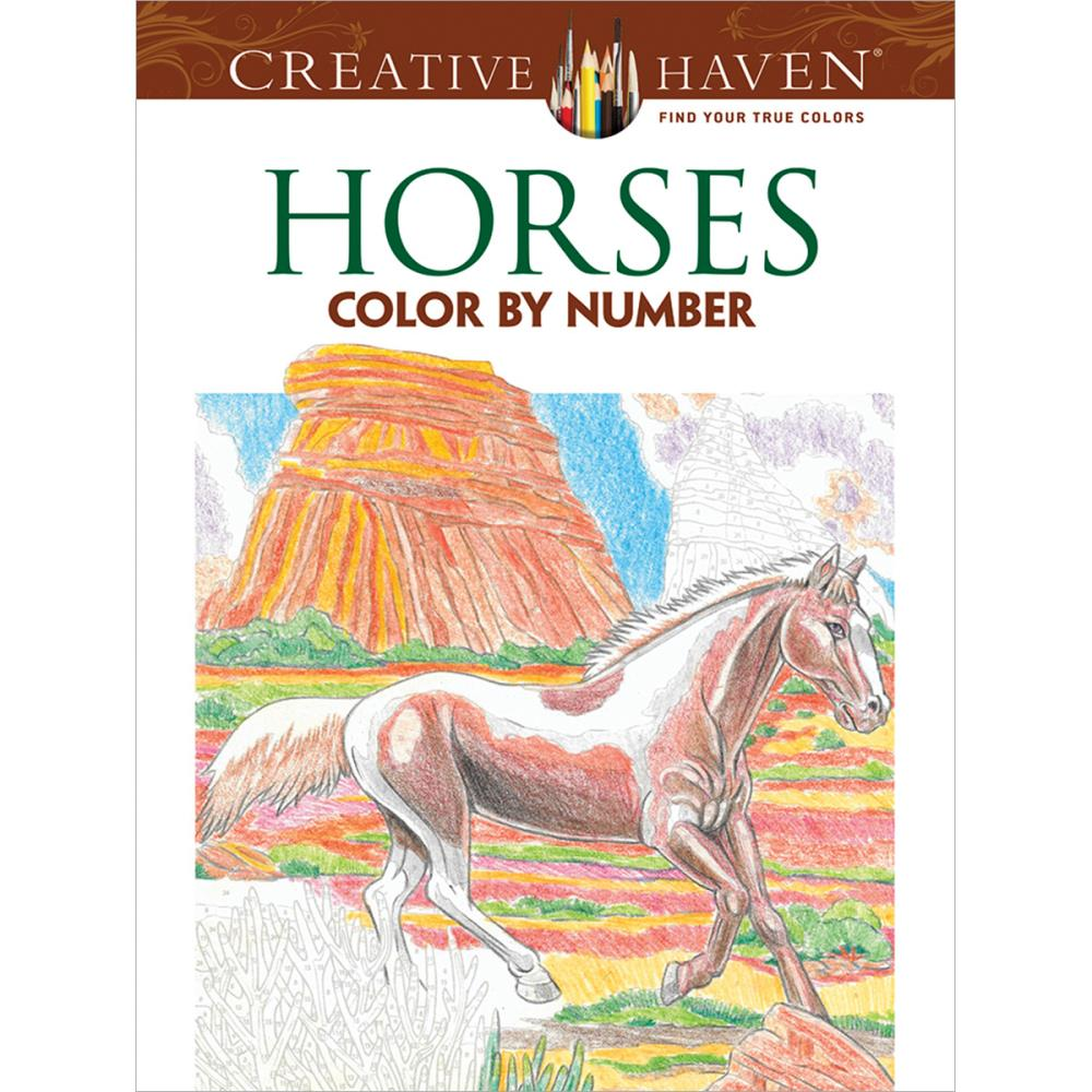- Dover Publications Creative Haven Horses