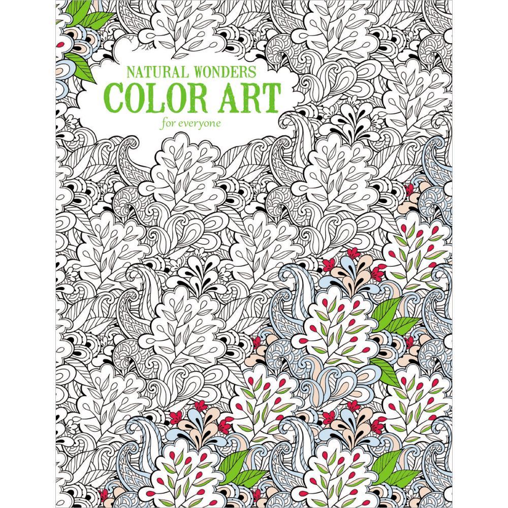 Color art floral wonders - Leisure Arts Natural Wonders Color Art