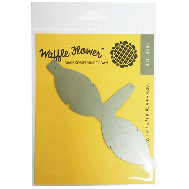 waffle flower crafts craft die mailable 3d bow template