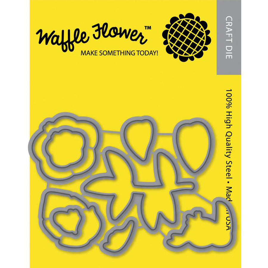 Waffle Flower Crafts Craft Die Hibiscus