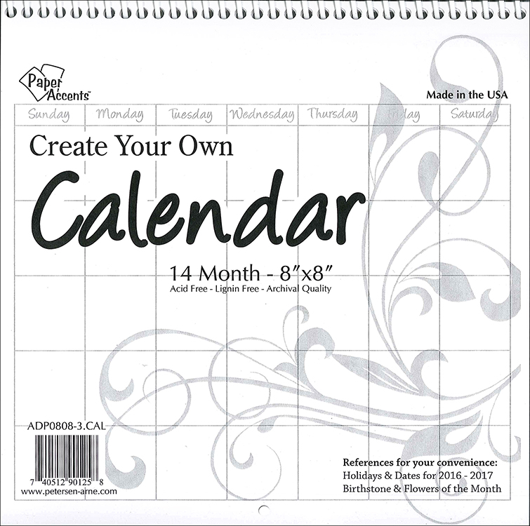 create your own calender how to design your own calendar like a