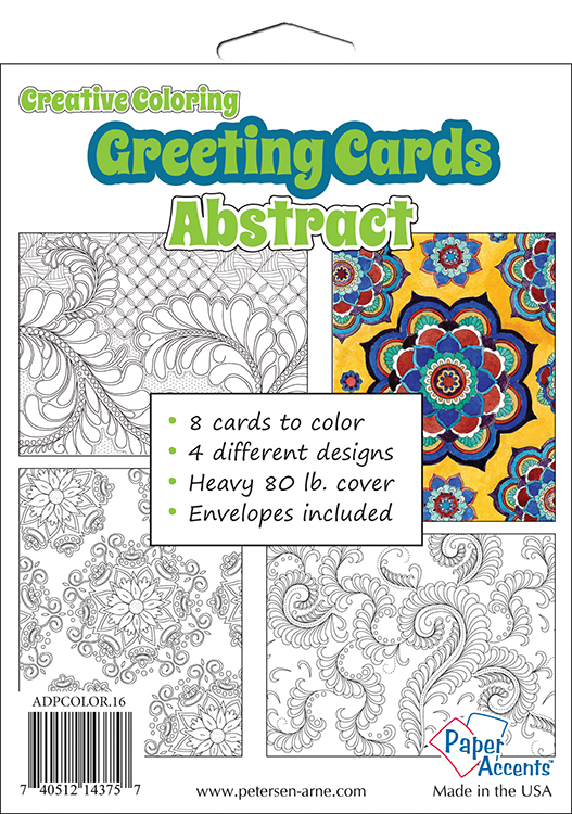 Paper accents creative coloring abstract greeting cards paper accents creative coloring collection greeting cards abstract m4hsunfo