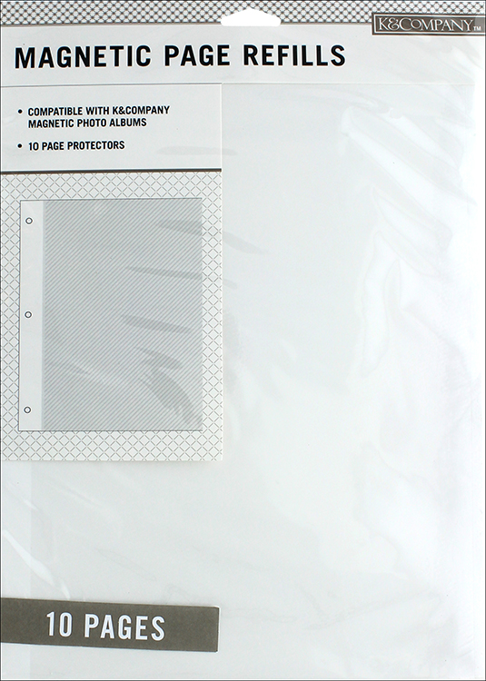 K And Company 85 X 11 Page Protector Refills 10 Pack