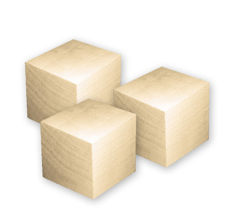 Lara 39 s crafts 3 5 inch wood blocks set of 3 for Where to buy wood blocks for crafts