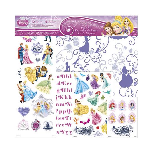 SandyLion Disney Princess 12 x 12 Page Kit